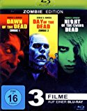 Dawn Of the Dead - Day Of the Dead - Night Of the Living Dead (3filme) [blu-ray]