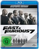 Fast & Furious 7 - Extended Version  (inkl. Digital Ultraviolet) [blu-ray]