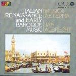 Italian Renaissance & Early Baroque Music
